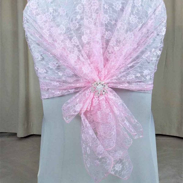 Drapes and Hoods Baby Pink