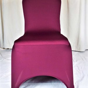 Chair Cover Burgundy