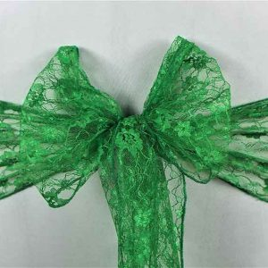 Sashes Lace Green