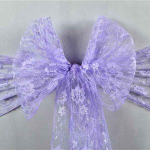 Sashes Lace Lilac